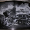 Laser Etching – Fireman Scene