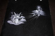 Hand Etchings – Jesus and Angels