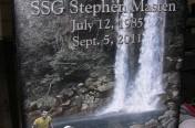 Laser Etching – Waterfall Scene